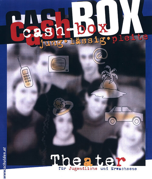 Plakat Cash-Box